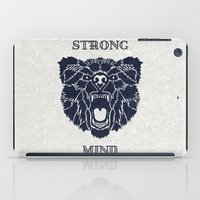 Strong Mind iPad Case