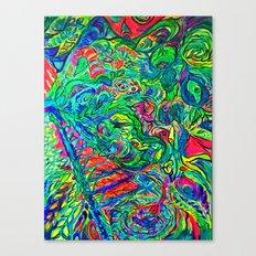 DMT JUNGLE Canvas Print