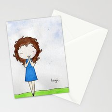 Laugh 2 Stationery Cards