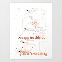 Bateman Constellation Art Print
