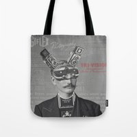 Mr Tri-Vision Tote Bag