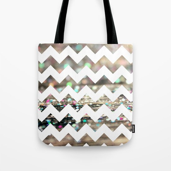 Afterparty Chevron Tote Bag