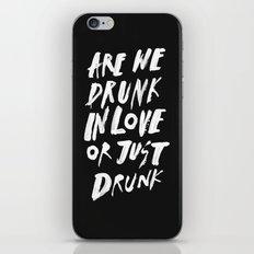 DRUNK iPhone & iPod Skin