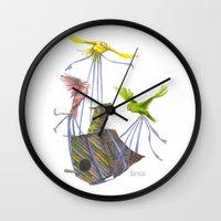 Fly Away Home Wall Clock
