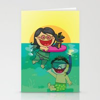 Beach Day! Stationery Cards