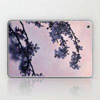blossoms at dusk Laptop & iPad Skin