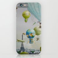 Ballooning over everywhere: Paris iPhone 6 Slim Case
