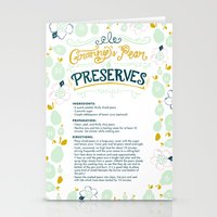Granny's Pear Preserves Stationery Cards