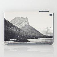 Glacier Mountain Lake Bl… iPad Case