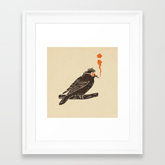 Beaknik  Framed Art Print