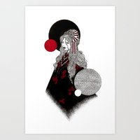 False Innocence Art Print
