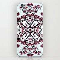 Magnolia Silhouette iPhone & iPod Skin