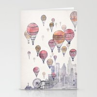 Voyages Over Santa Monica Stationery Cards
