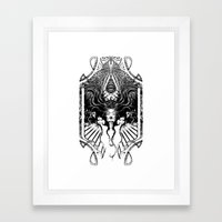 Goddess Framed Art Print