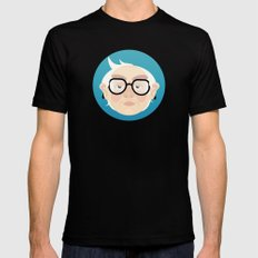 Bernie Black Mens Fitted Tee SMALL