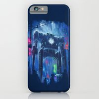 robot iPhone & iPod Cases featuring Impressionist Robot by DB Art