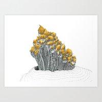 City #5: Ozhijah Art Print