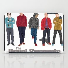 The Usual Suspect casual fashion style iPad Case