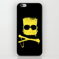 Pochoir - Bart iPhone & iPod Skin