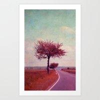 Summer & Sun Art Print