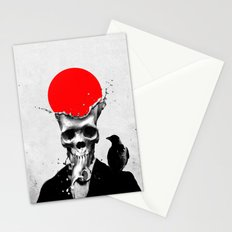 SPLASH SKULL Stationery Cards