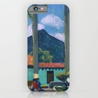 iPhone & iPod Case featuring Antigua Park Bench by Bryan Dechter