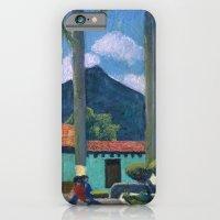Antigua Park Bench iPhone 6 Slim Case