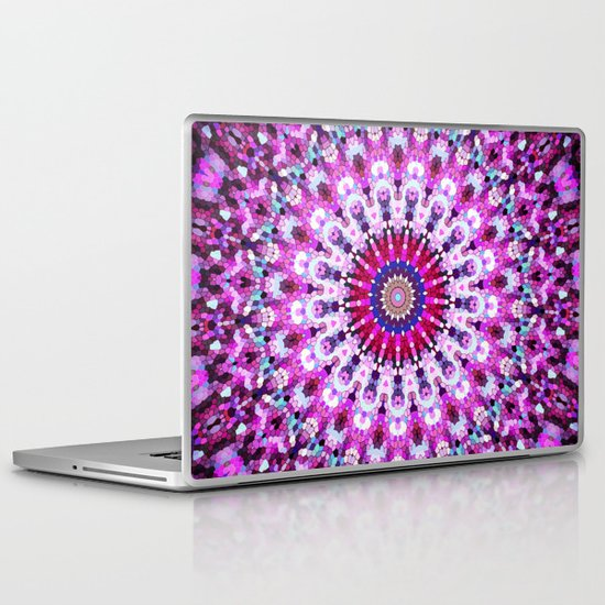 ARABESQUE PINK Laptop & iPad Skin