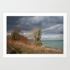 At the Lake Art Print