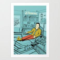 Movies we like - The Terminal Art Print