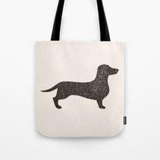 Dog II - Dachshund Tote Bag