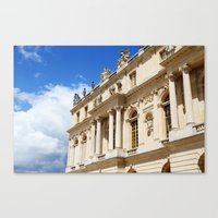 Blue Sky Versailles Canvas Print
