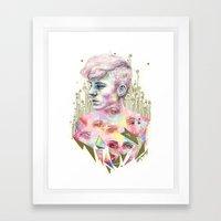 Who Broke You? Framed Art Print