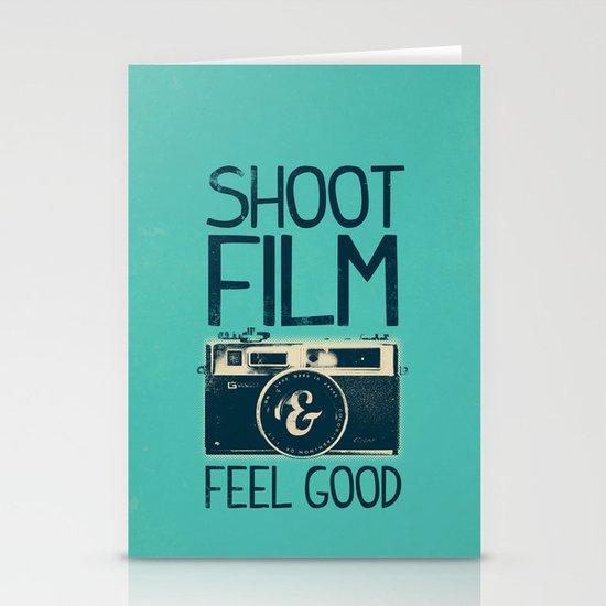 Shoot Film Stationery Card