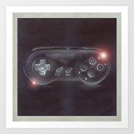 Art Print featuring Joystick #01 by Kris Efe