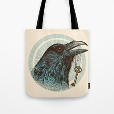 Raven's Head Tote Bag