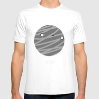 Mercury Mens Fitted Tee White SMALL