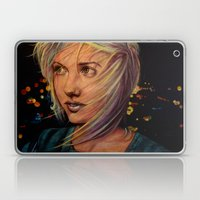 Wind Speaks While The Ci… Laptop & iPad Skin