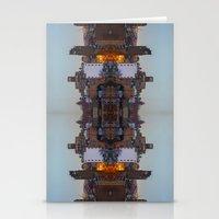 New York Symmetry  Stationery Cards