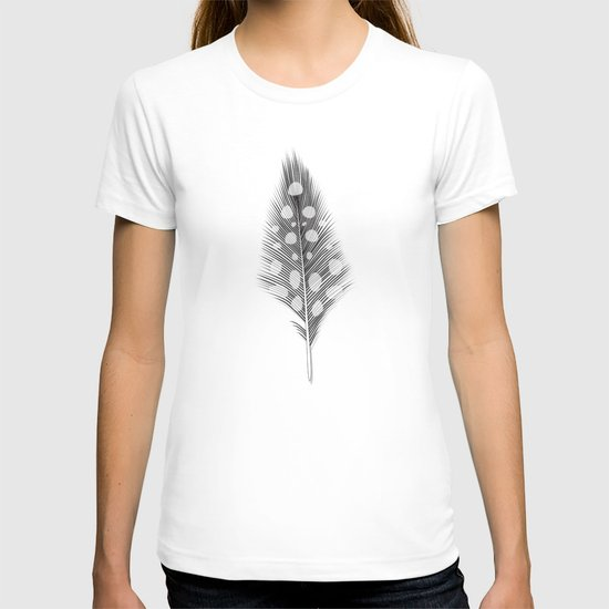 Polka Dotted Feather T-shirt
