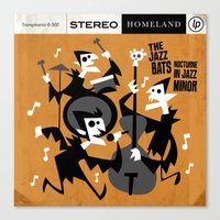 The Jazz Bats Canvas Print