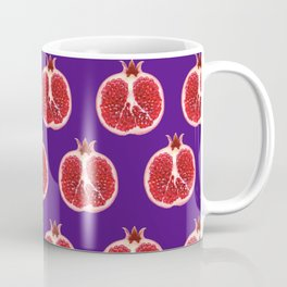 Mug - pomegranate pattern - rowans