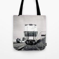 Train car waiting Tote Bag