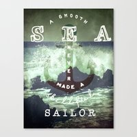 THE SAILOR QUOTE Canvas Print