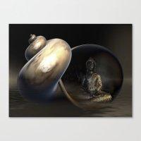 Mystic Buddha Canvas Print