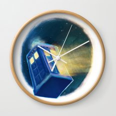 The TARDIS Wall Clock