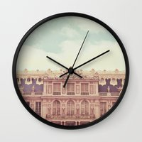 Chateau Versailles Wall Clock