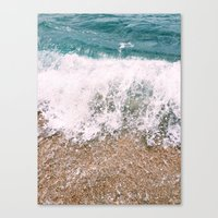 Beckoning Seas II Canvas Print