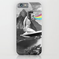 iPhone & iPod Case featuring Capture The Moment by Kiki Collagist