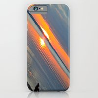 iPhone & iPod Case featuring Silver Lake Sunset  by Wayfaring Magnolia